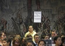Se suma SEMS al paro de labores convocado por la FEU por la desaparición de estudiantes en Jalisco