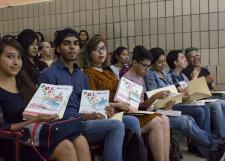 Motiva la Preparatoria 12 a sus estudiantes a expresar y analizar la realidad en  Literántropo Doce