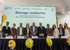 Inicia en Preparatoria 2 campaña conjunta entre la UdeG y la Secretaría de Salud de Jalisco para prevenir embarazo adolescente