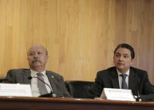 Exponen Proyecto Educativo de Jalisco con énfasis en el nivel medio superior en el auditorio del edificio Valentín Gómez Farías