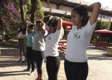 Aprovechan autoridades del SEMS Día Mundial de la Activación Física para promover estilos de vida saludable en su comunidad