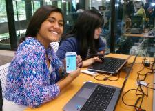 Participan alumnas de ocho preparatorias del SEMS en Technovation Challenge México