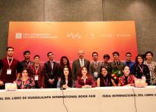Premian a jóvenes creadores literarios en el marco de la edición 31 de la FIL